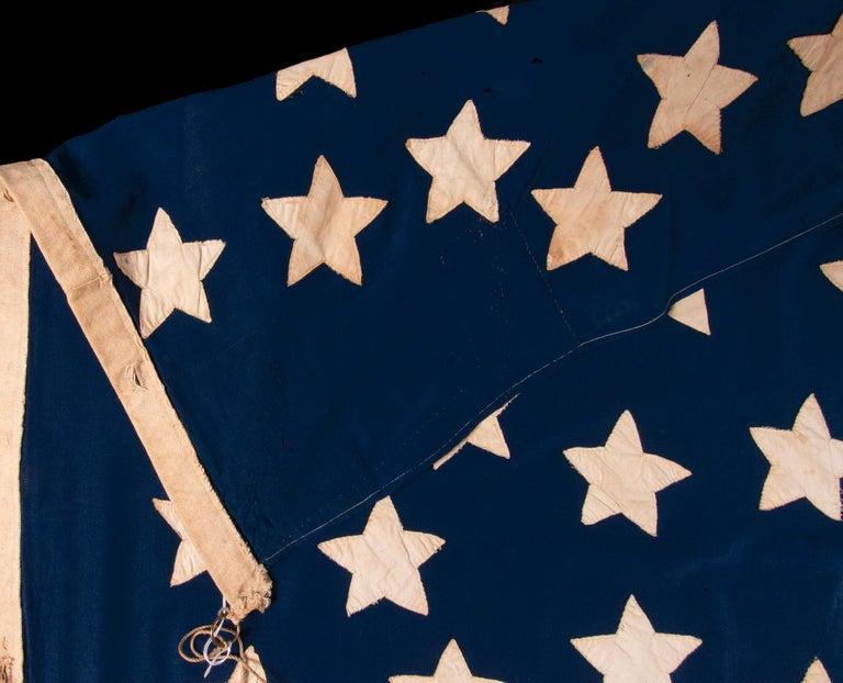 Antique American Flag, 32 Stars, Minnesota Statehood, ca 1858-59 For Sale 1