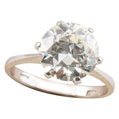 3,20 Engagement Ring 18kt Gold