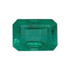 3.29 Carat Emerald Shape Green Emerald