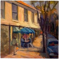 """32nd Street, Highlands Scene"" Original Painting by Frances Gottlieb"