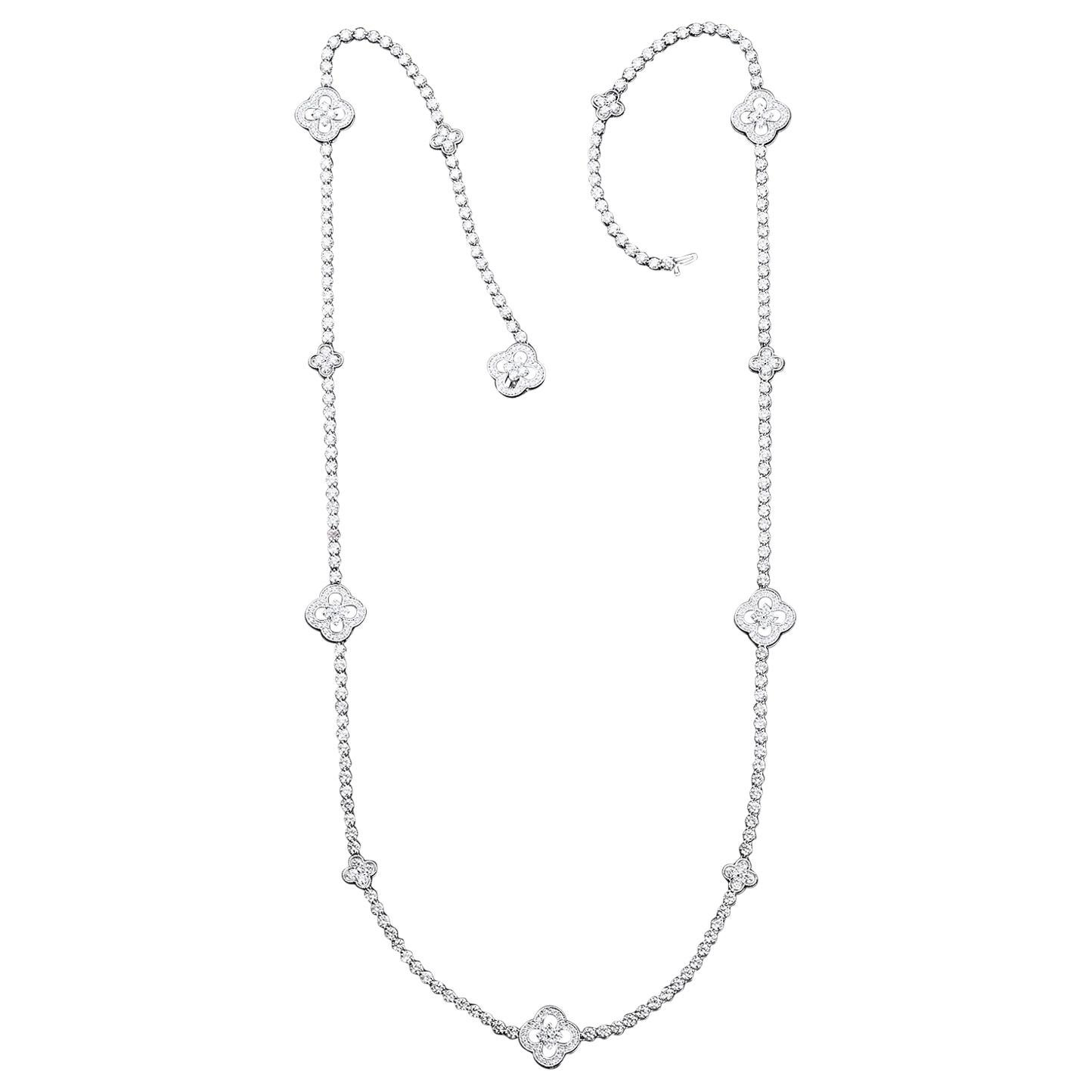 33 Carat Opera Rope Diamond Necklace