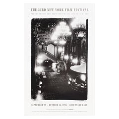 """33rd New York Film Festival"" 1995 U.S. Poster"