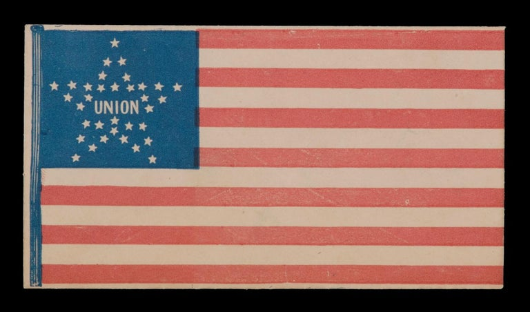 34 Star American Flag Cover with a Great Star Pattern In Good Condition For Sale In York County, PA