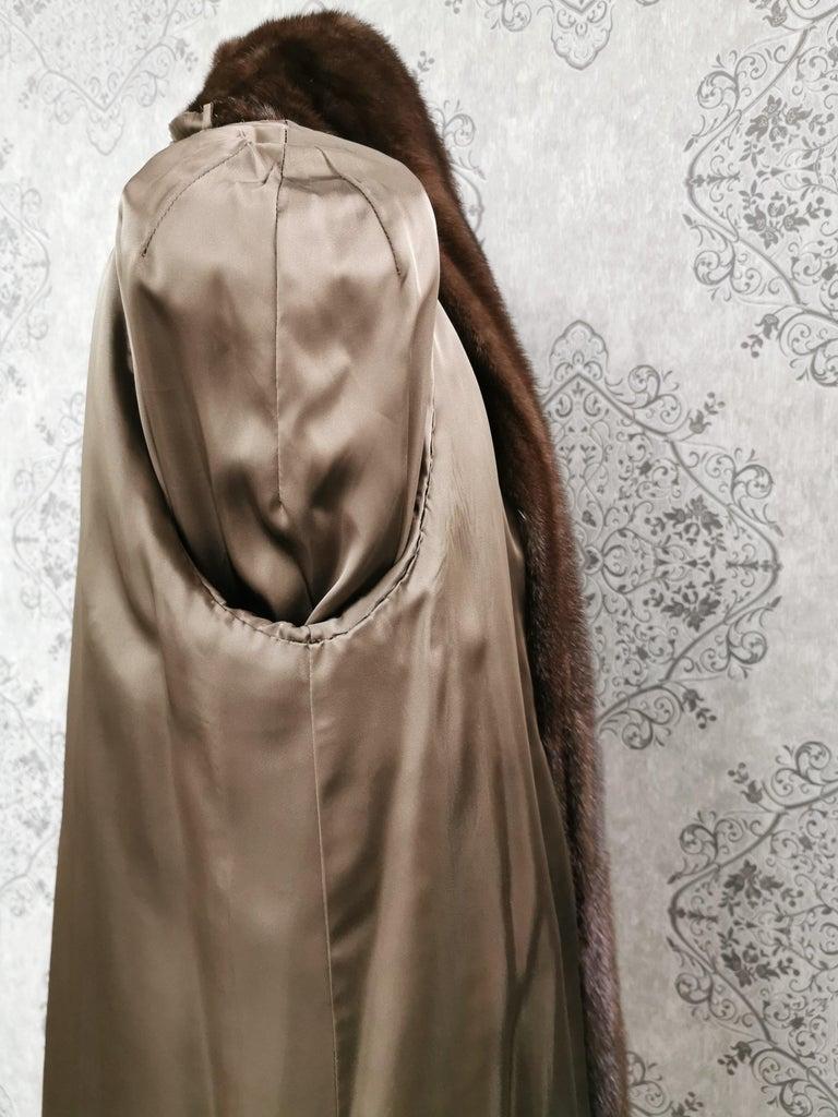 Donna Karan New York for Berger Christensen Demi-Buff Mink Fur Coat (Size 16-18) For Sale 6