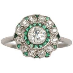 .35 Carat Diamond Platinum Engagement Ring