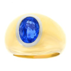 Sapphire Dome Rings
