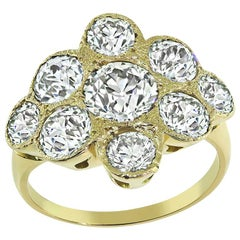 3.50 Carat Diamond Gold Ring