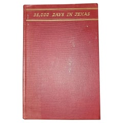 35000 Days in Texas by Acheson 1st Edition