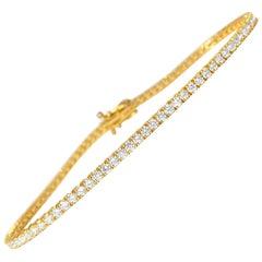 3.52 Carat Vvs Diamond Tennis Bracelet