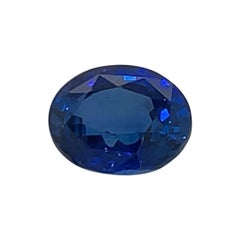 3.54 Carat Oval Shape Super Premium Blue Sapphire GIA Certified