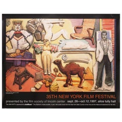 """35th New York Film Festival"" 1997 U.S. Poster Signed"
