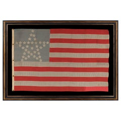 36 Star American Flag, Civil War Era, Nevada Statehood