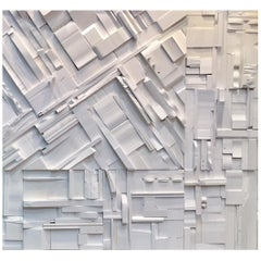 Collage Tiles, Random Brutalist Artwork Wall Coverings w/Acoustical Benefits.