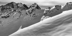 Piz Bernina Roseg, Engadine, Switzerland, Mountain Photography