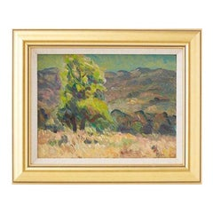 Summer in Ojai Oil Painting