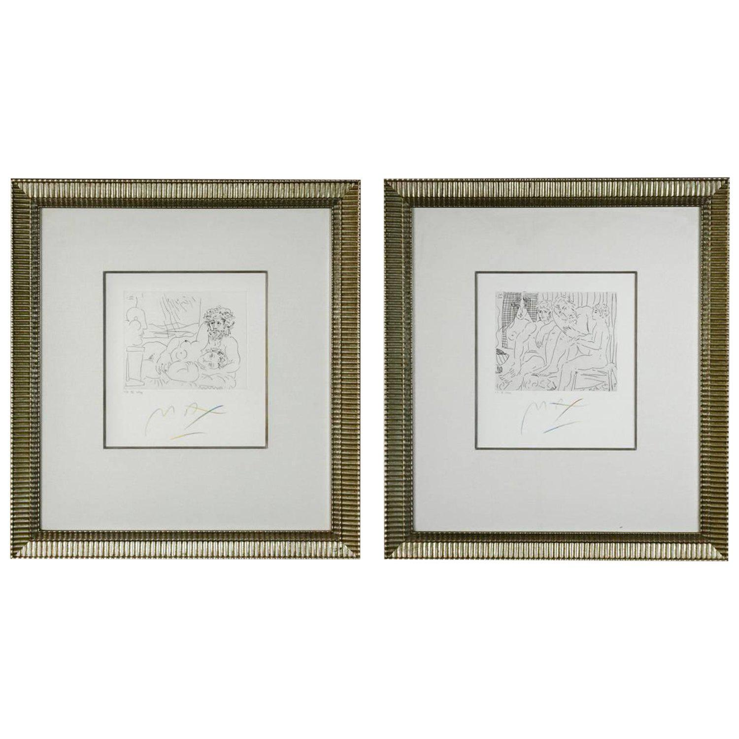 Pair of Etchings V. 3. IX and XII