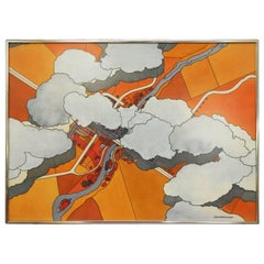 """Aerial View"" Watercolor"