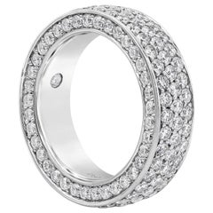 3.67 Carat Round Diamond Cigar Band