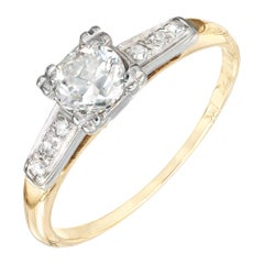 .37 Carat Old European Diamond Art Deco Engagement Ring