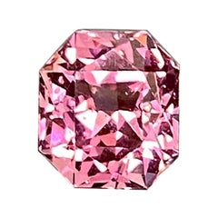 3.72 Carat Octagon-Cut Unheated Burmese Pink Spinel