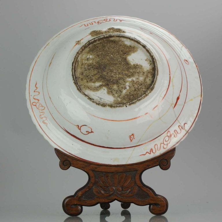 Majestic Zhangzhou Swatow Charger Ko Akae Verte China Ming Dynasty In Good Condition For Sale In Amsterdam, Noord Holland