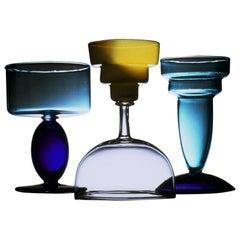 38 Matsu Glass Vase, by Marco Zanini from Memphis Milano