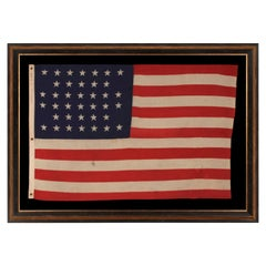 38 Star American Flag Made by U.S. Bunting Company, EX-Whitney Smith Collection