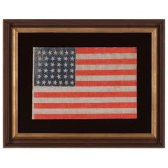 38 Star American Parade Flag, Colorado Statehood