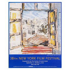 """38th New York Film Festival"" 2000 U.S. Poster"