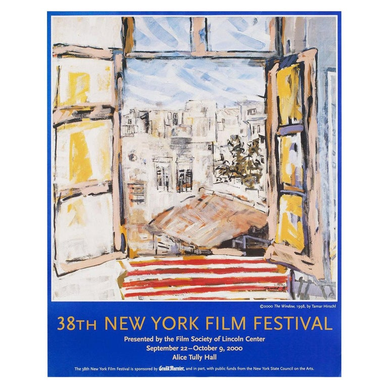 """38th New York Film Festival"" 2000 U.S. Poster For Sale"