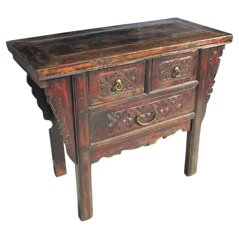 19th Century Qing Dynasty Alter Console Table For Sale