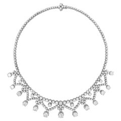39.0 Carat Diamond Necklace