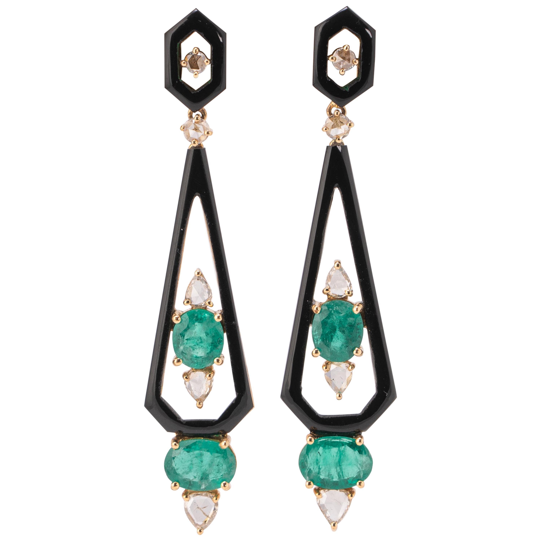 Royaal Stones Ltd Drop Earrings