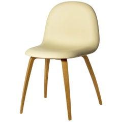 3D Dining Chair, Un-Upholstered, Wood Base, Hirek Shell
