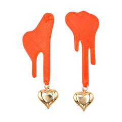 3d Printed Dying 4 Your Love Earrings