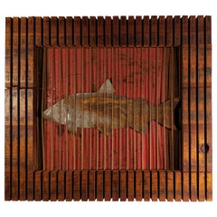 3D Wall Art 'Trapped White Fish'