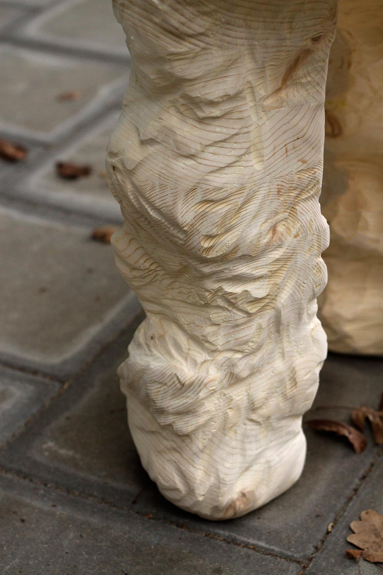 Other 3 Legs Stool, Carved Wooden Stool For Sale