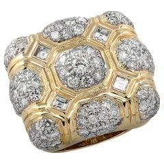 4 Carat Diamond Cocktail Ring