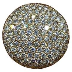 4 Carat Diamond Dome Ring VS, F-G Quality