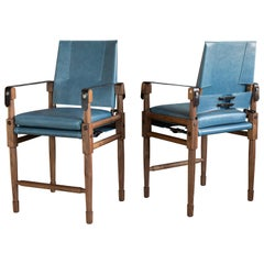 A set of four Chatwin Counter Chairs - handcrafted by Richard Wrightman Design
