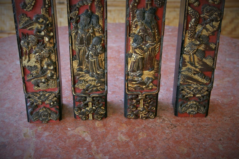 4 Chinese Architectural Elements For Sale 15