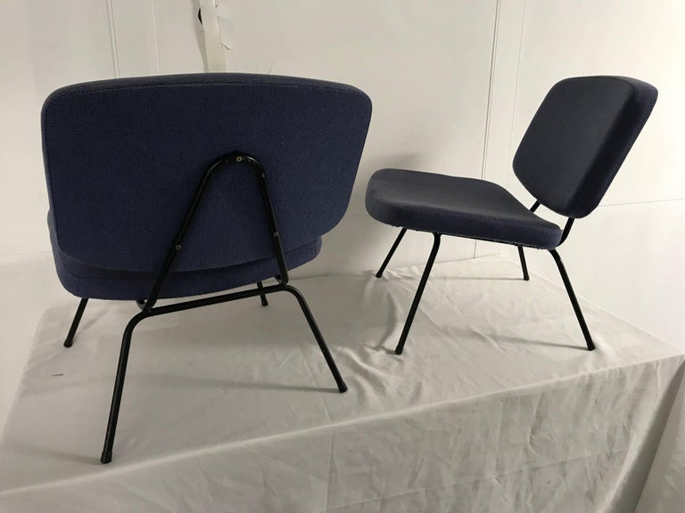 French CM190 Slipper Chairs by Pierre Paulin For Sale