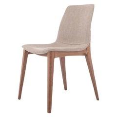 4 Contemporary Studio Tecnico Interna8 2x Chairs Wood Fabric