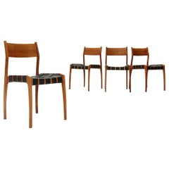 4 Dining Chair by Piero Palange E Werther Toffoloni for Montina, 1960s