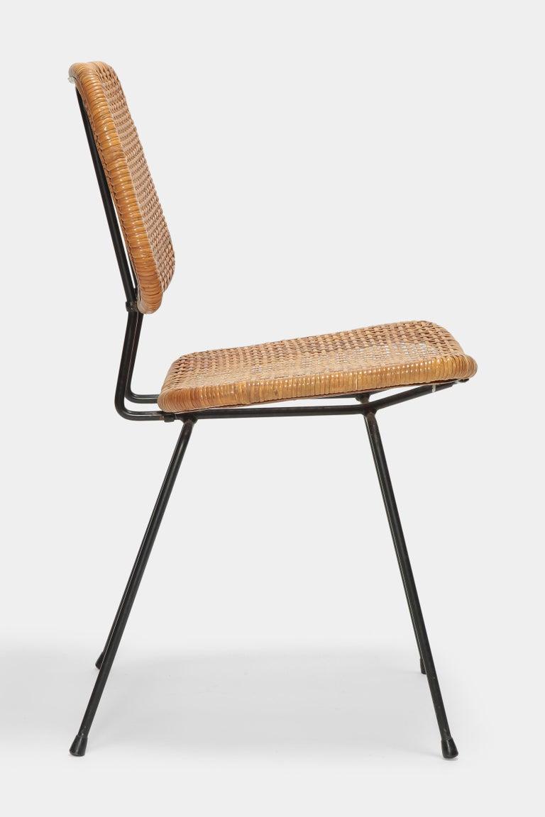 4 Dirk Van Sliedregt Chairs 550 Rohé Noordwolde, 1950s For Sale 3