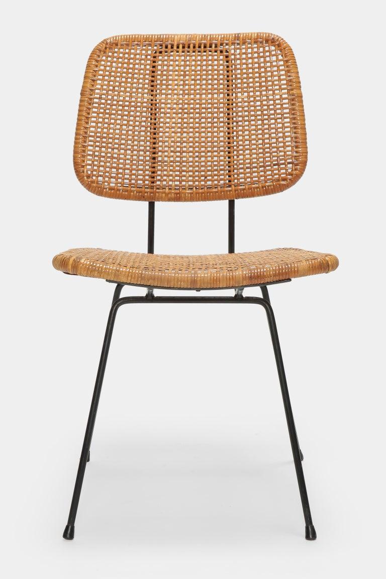 4 Dirk Van Sliedregt Chairs 550 Rohé Noordwolde, 1950s For Sale 4
