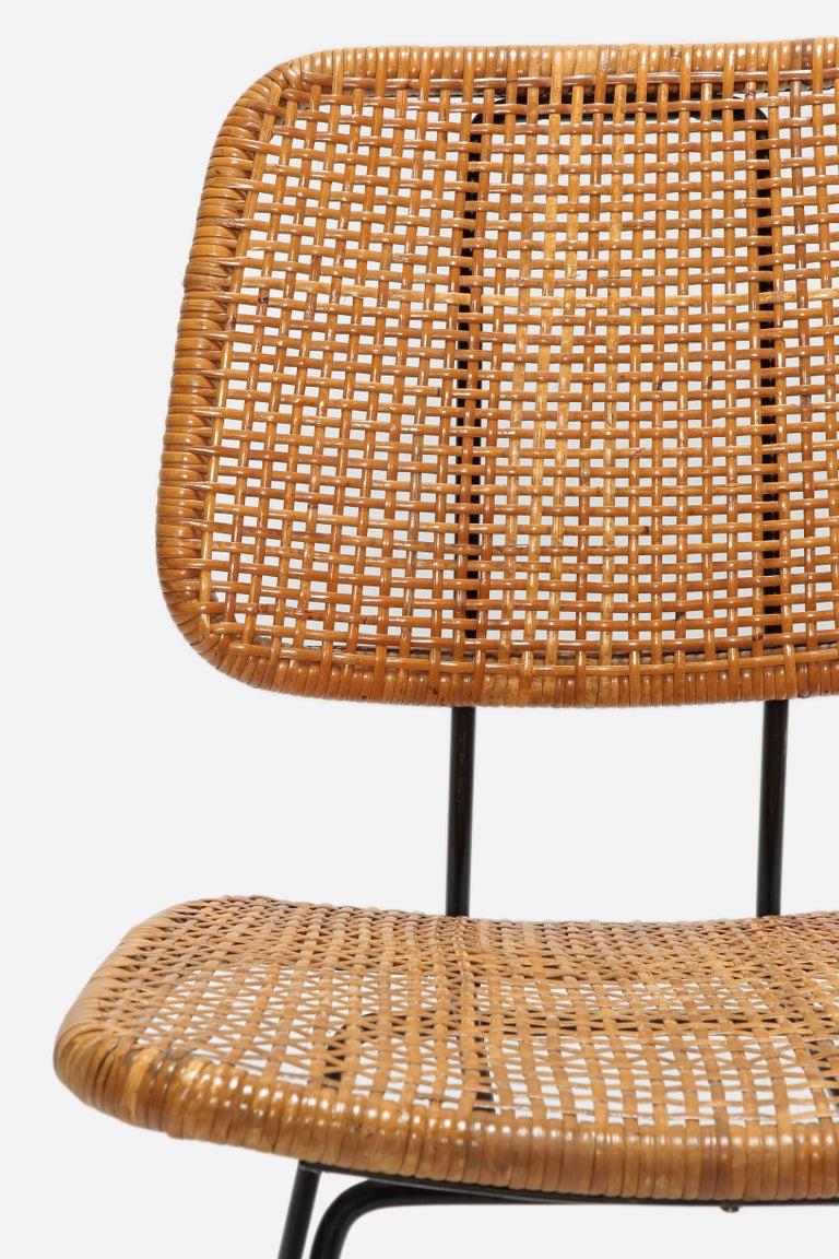 4 Dirk Van Sliedregt Chairs 550 Rohé Noordwolde, 1950s For Sale 6