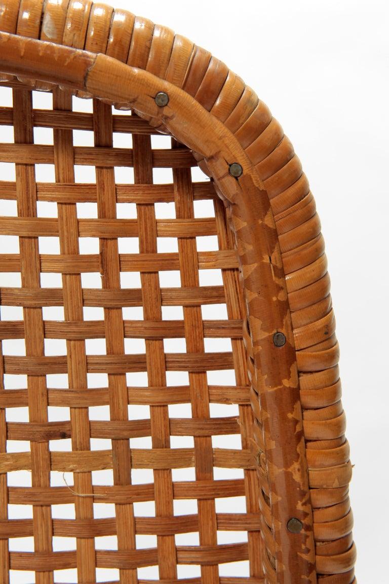 4 Dirk Van Sliedregt Chairs 550 Rohé Noordwolde, 1950s For Sale 9