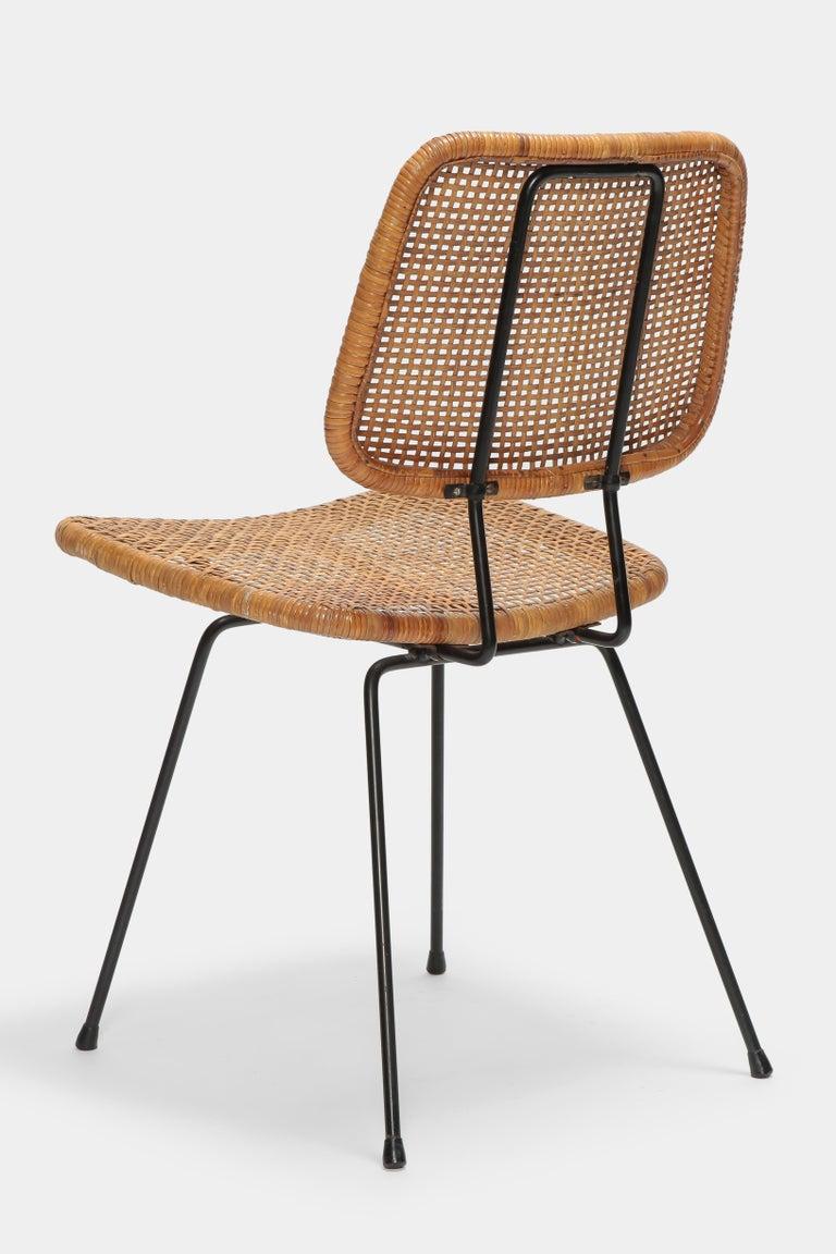 4 Dirk Van Sliedregt Chairs 550 Rohé Noordwolde, 1950s For Sale 1
