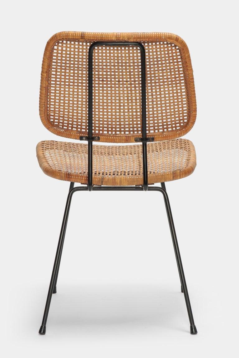 4 Dirk Van Sliedregt Chairs 550 Rohé Noordwolde, 1950s For Sale 2
